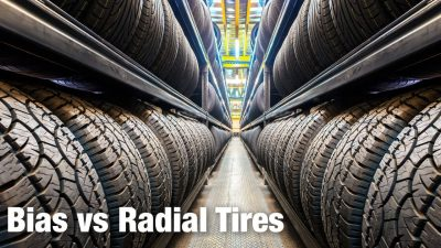 What's the difference between bias and radial tires?