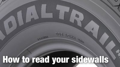 How to read your sidewalls