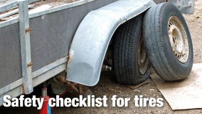 Safety Checklist For Tires