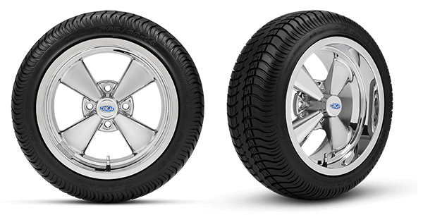 Cragar® brand introduces wheels for the golf market