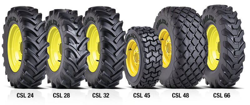 The Carlstar Group unveils large diameter Agricultural tires at Farm Progress Show