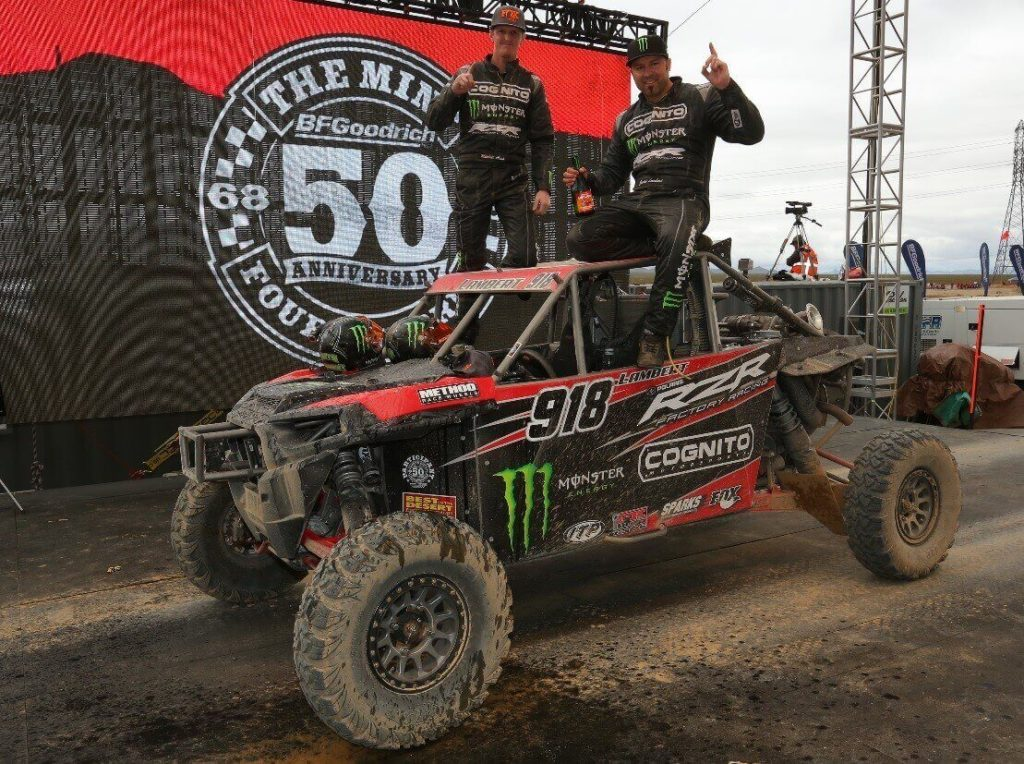 Team ITP Driver Justin Lambert Wins Mint 400 Race