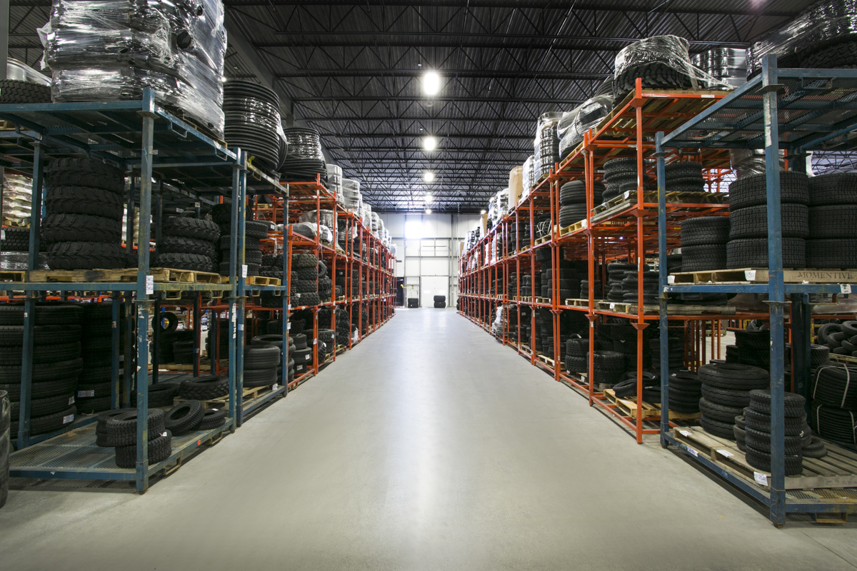 The 60,000 square foot (5,574 square meter) facility.